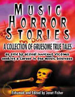 Music Horror Stories book Janet Fisher